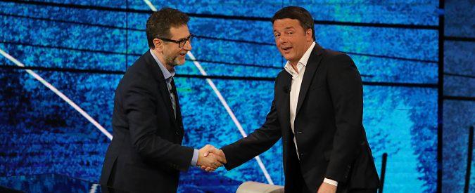 Renzi da Fazio ha esposto la sua strategia. Vuole rottamare l'Italia