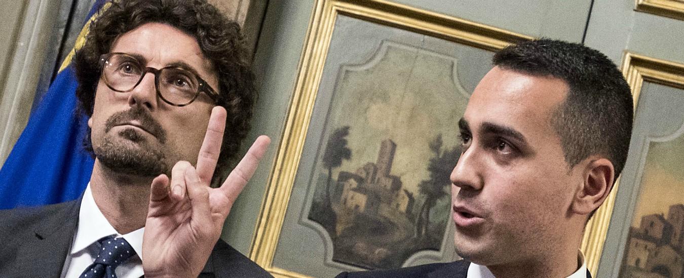 """Autostrade, Di Maio: """"Le toglieremo a Benetton"""". Toninelli: """"Aspi pagherà la ricostruzione del ponte Morandi"""""""