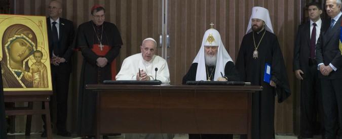 Bari, il patriarca Kirill declina l'invito di Papa Francesco nella città di San Nicola: salta l'incontro tra i due leader religiosi