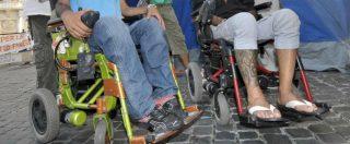 """Reddito di cittadinanza, """"disabili discriminati e delusi: irrisori 50 euro al mese in più. E non andranno a tutti"""""""