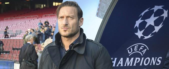 """Roma-Liverpool, messaggio di Totti dopo gli scontri dell'andata: """"Tutto il mondo ci guarda. Abbiamo grande responsabilità"""""""