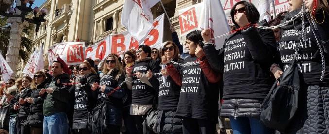 """Diplomati magistrali a rischio licenziamento in sciopero della fame dal 28 aprile: """"Continueremo a oltranza"""""""