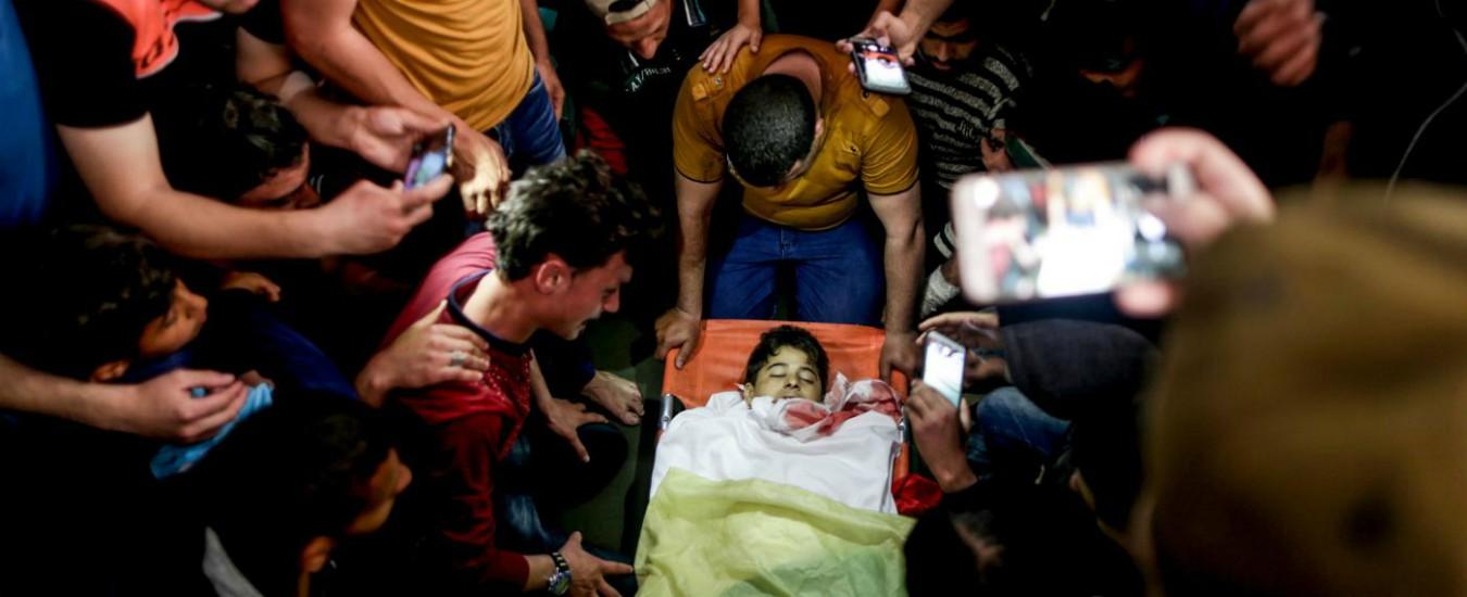 Gaza, più che 'scontri' chiamiamoli macabro tiro al bersaglio