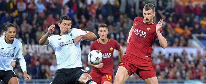 Roma-Liverpool 4-2, onore ai giallorossi: vincono ma non basta per la finale