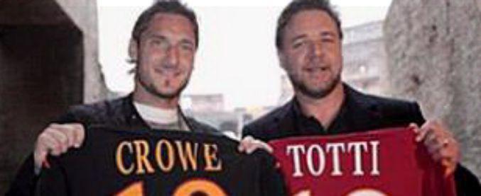 Roma-Liverpool, anche il gladiatore Russel Crowe tifa per i giallorossi