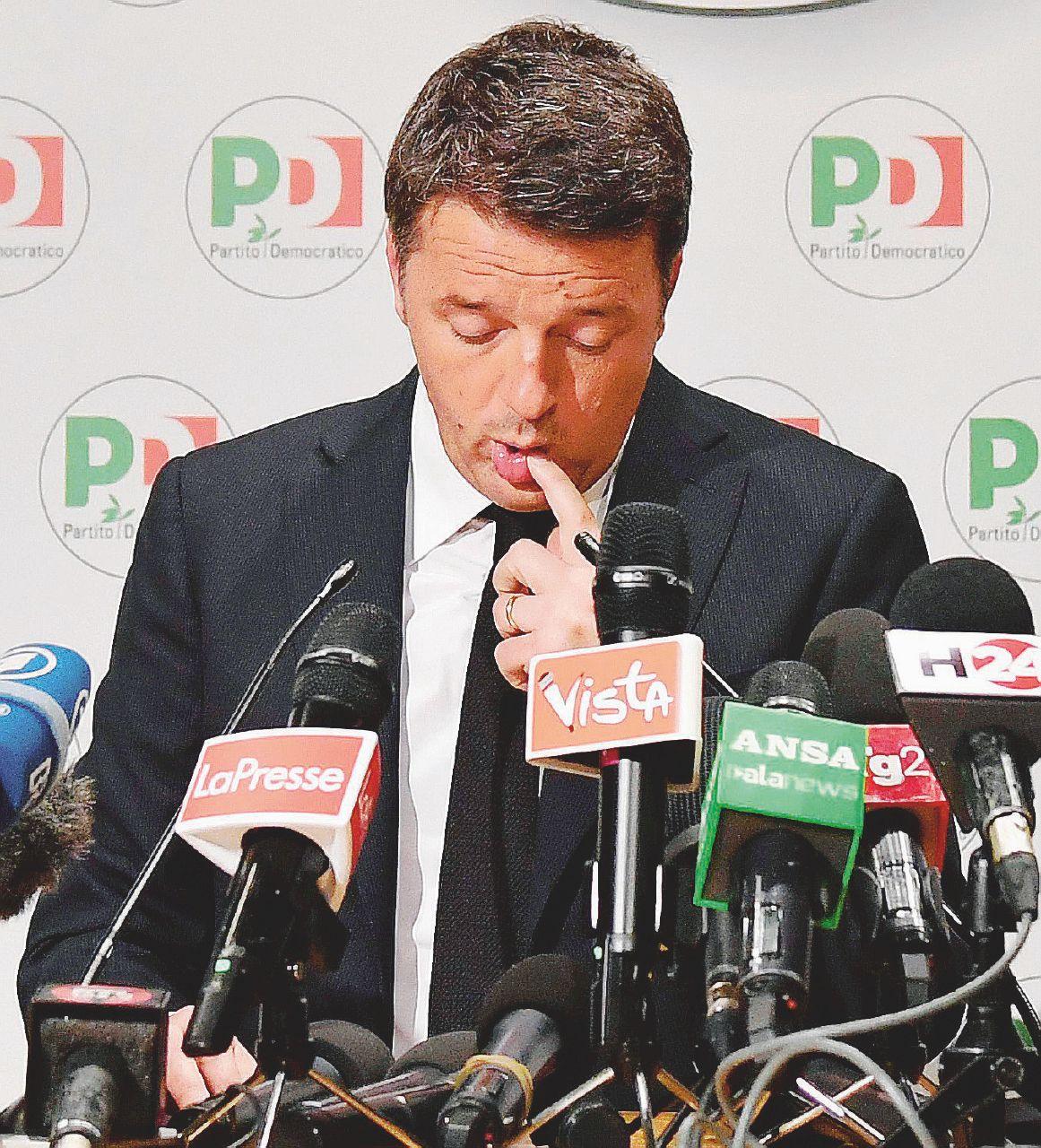 Direzione Pd, la prima volta di Renzi al buio
