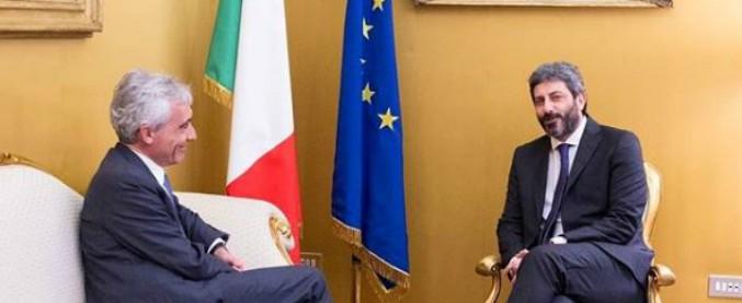 """Vitalizi, Di Maio: """"Abolirli prima del ritorno alle urne"""". E Fico rivede Boeri: """"La Camera continua a lavorare"""""""