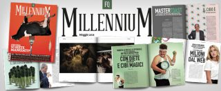 """Fq MillenniuM in edicola con """"Che cosa vi siete mangiati?"""": il mensile festeggia l'anno di vita con un numero sul cibo"""