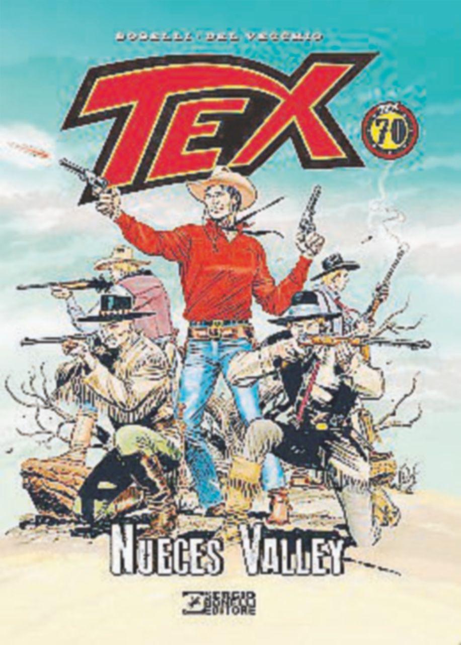 Anche Tex Willer ha un passato, guidava mandrie nelle praterie