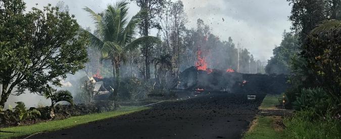 Hawaii, terremoto di magnitudo 6.9 dopo l'eruzione del vulcano Kilauea: 10mila persone evacuate