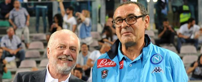 Napoli, il sogno scudetto finisce in rissa: altro che lieto fine, volano gli stracci tra Aurelio De Laurentiis e Maurizio Sarri