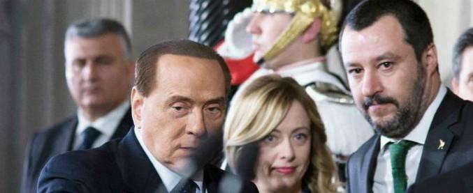 """Governo, alta tensione Berlusconi-Salvini a Palazzo Grazioli: """"Mai appoggio esterno a Lega-M5s"""", """"Allora si torna al voto"""""""