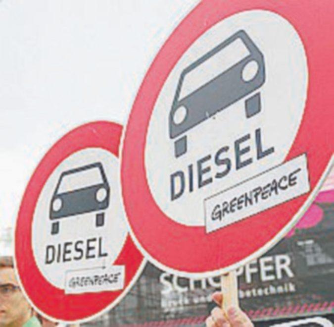 Meno diesel in Europa, Germania a batteria