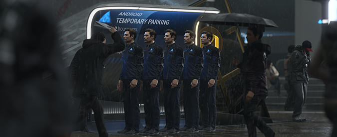 Detroit: Become Human, la genesi della nuova avventura di Quantic Dream per PlayStation raccontata da Adam Williams