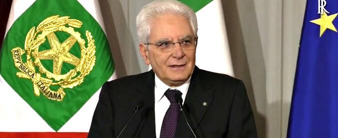 """Mattarella: """"L'Italia non può essere far west dove uno spara a una bimba dal balcone"""""""