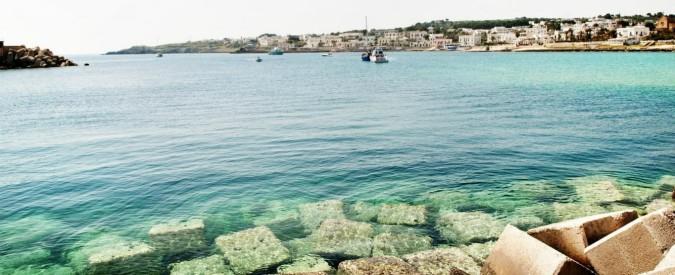 """Greenpeace contro Edison: """"No alla ricerca di petrolio e gas con l'air gun in Puglia. E' bombardamento dei fondali"""""""