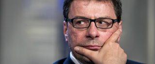 Giorgetti e quella nomina in conflitto di interessi: la Lega di Salvini si prende l'aerospazio