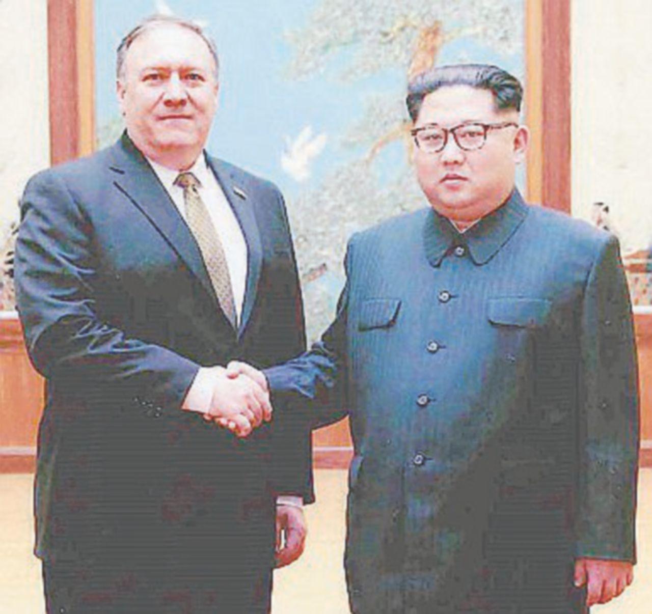 Kim incontra Pompeo e libera tre ostaggi statunitensi