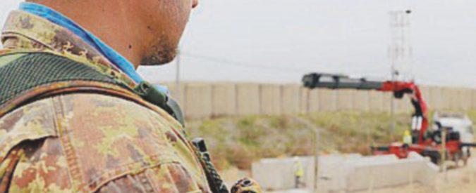 """""""Noi italiani a guardia dei confini, sfiorati dal conflitto siriano"""""""