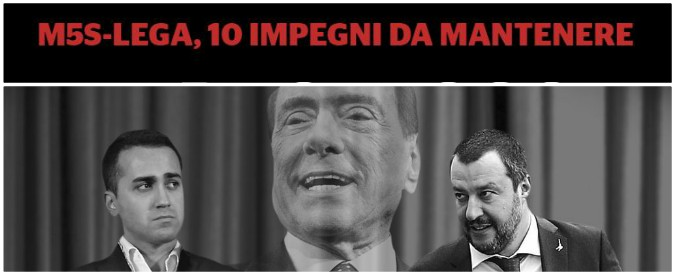 Governo, cosa devono fare Lega e M5s per tenere fuori Berlusconi: ecco il decalogo per archiviare il delinquente