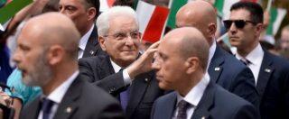 """Mattarella omaggia Luigi Einaudi e avverte i partiti: """"Su scelta del premier usò in pieno le sue prerogative"""""""