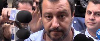 """Governo, Salvini: """"Einaudi? Un grande, ma va letto tutto.  La legge sul conflitto di interessi è nei punti in discussione"""""""