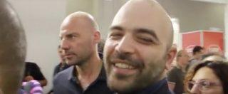 """Berlusconi riabilitato, Saviano: """"Terribile! Tutto cambia perché nulla cambi"""". """"Governo M5s-Lega? Lo fanno"""""""