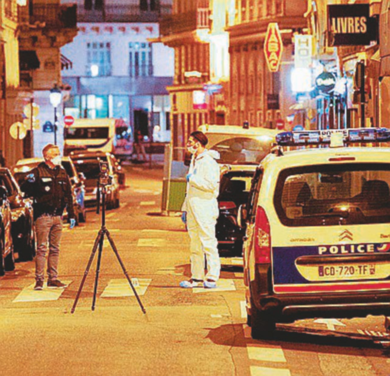 """Azimov, l'ultima """"S"""" a colpire a Parigi"""