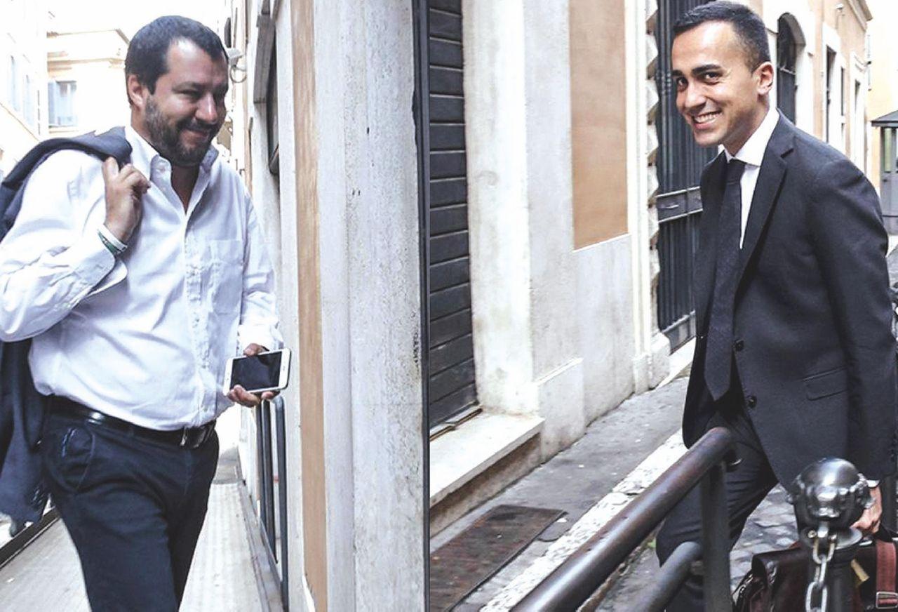 """Sul Fatto del 14 maggio: """"Premier politico"""". E fantasma. La trattativa Di Maio-Salvini"""