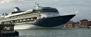 Venezia, nave da crociera da 40mila tonnellate in avaria: bloccata nel canale della Giudecca per 30 minuti