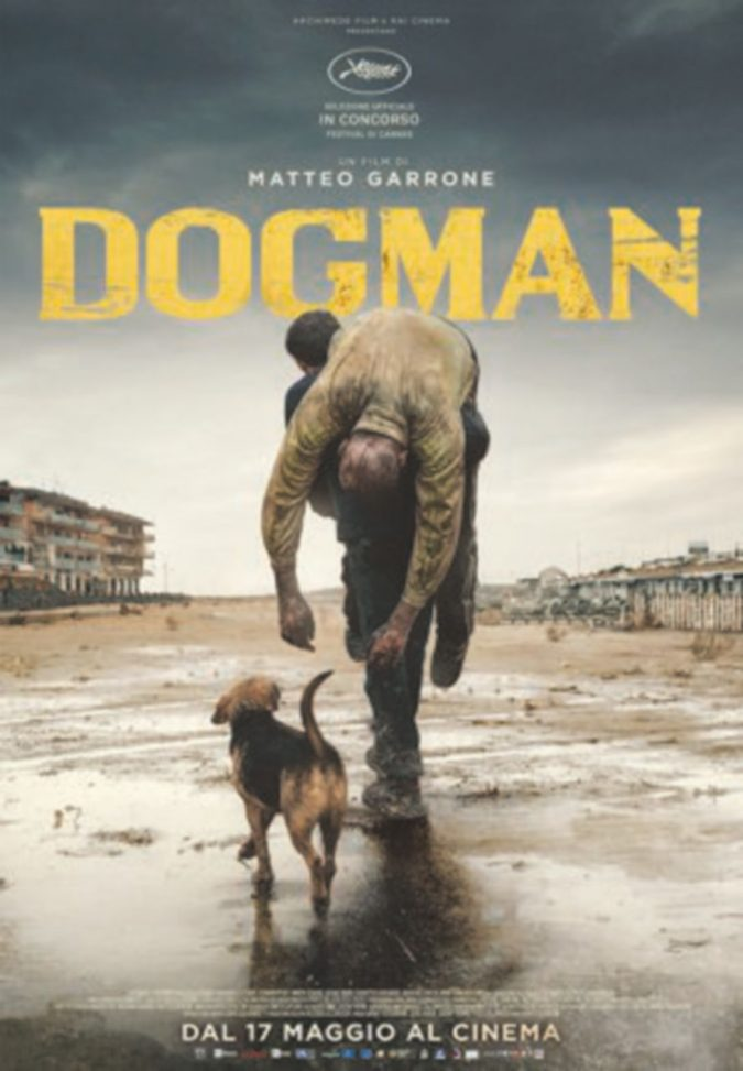 """Dogman"" di Garrone a Cannes, domani in sala"