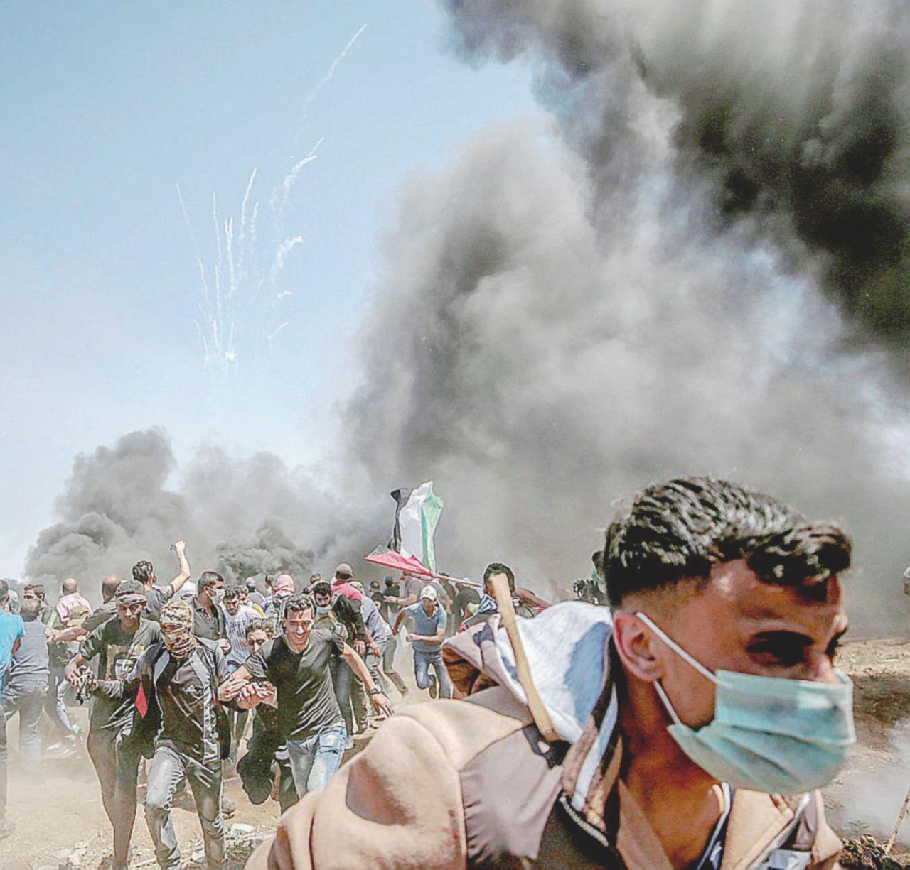 Il senso di Hamas per il confine col filo spinato