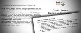 Governo, seconda bozza contratto. Codice etico per i ministri: no a condannati, massoni o in conflitto di interessi