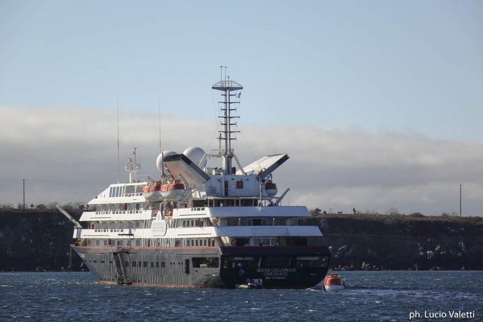 La Silver Galapagos la nave più grande nell'arcipelago: 100 ospiti