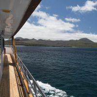 Da una cabina dello yacht