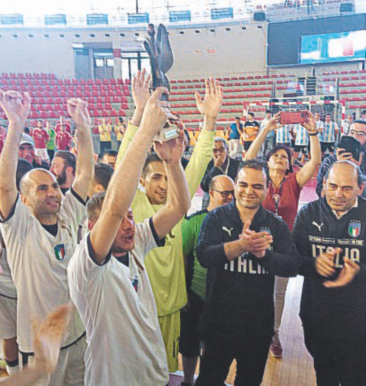Appena fuori dal calcio schizofrenico l'Italia è Campione del mondo 2018