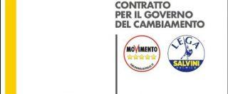 Governo M5s-Lega, il contratto di governo: la versione definitiva del testo