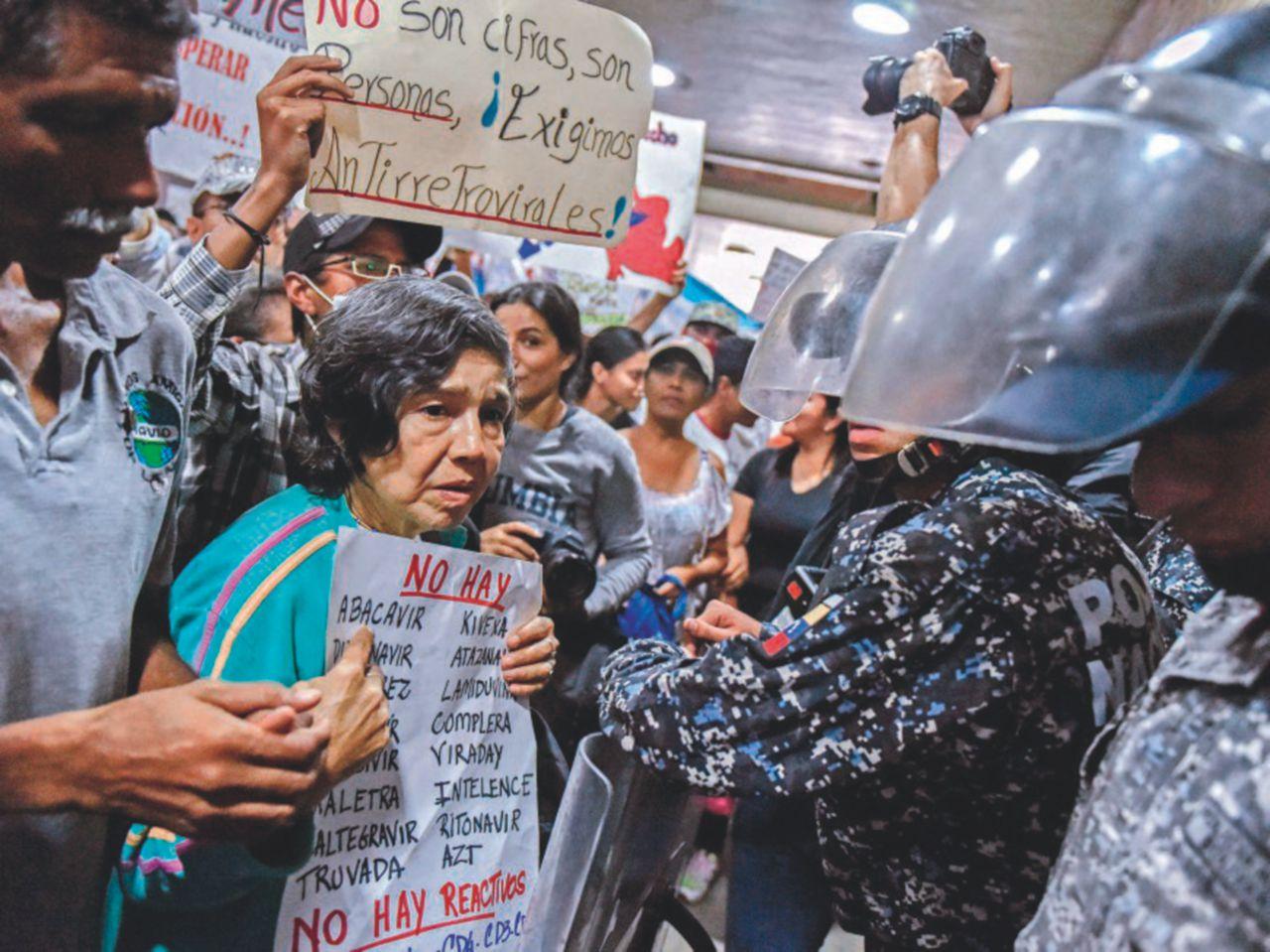 Al voto, fra rivolte in carcere e manganellate