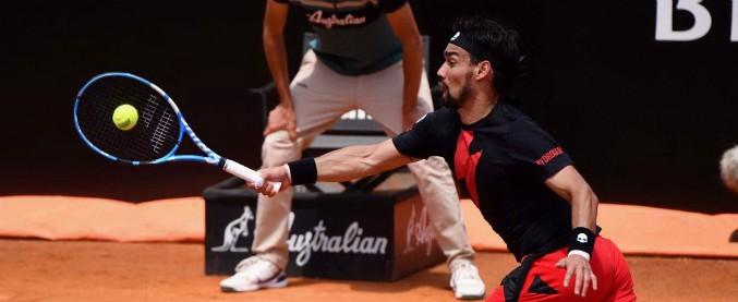 Internazionali di Roma, Fabio Fognini rimontato da Rafael Nadal: illude nel primo set, poi crolla