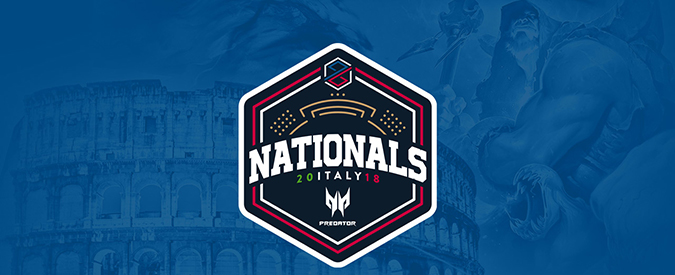 PG Nationals Predator, il 27 maggio tornano in campo i migliori team italiani di League of Legends