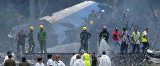 L'Avana, boeing 737 si schianta al decollo: 107 morti. Tre donne sopravvissute. Tra le vittime una cittadina cubana naturalizzata italiana