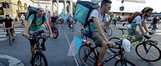 """Rider, la proposta: """"Lavoratori riuniti in cooperative per aumentare diritti e tutele, come in Belgio e Francia"""""""