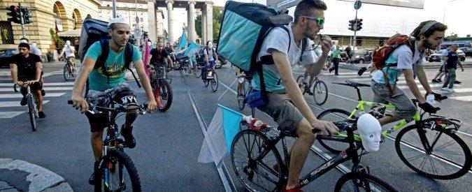 Ho scritto dei rider e di quanto devono pedalare per guadagnare 500 euro