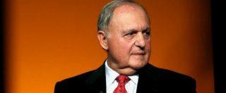 """Moody's taglia rating, ministro Savona: """"Debito solvibile, nessun rischio default"""""""