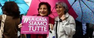 """Roma, protesta in Campidoglio contro la chiusura della Casa delle Donne. Assessore: """"Progetto datato, va rilanciato"""""""