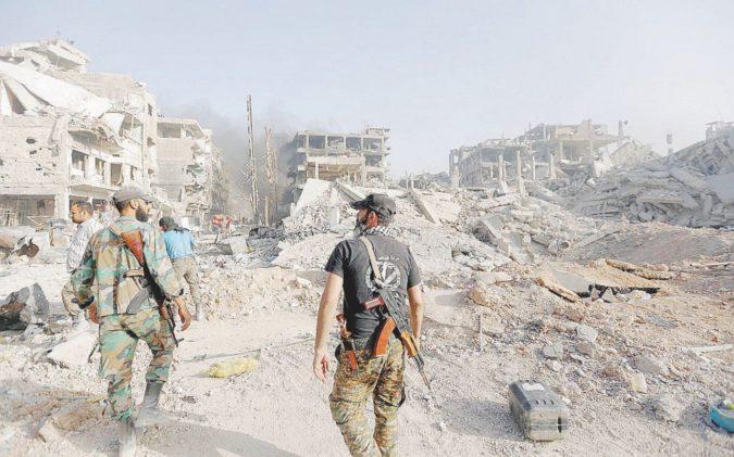 """Damasco liberata da tutti i jihadisti"""