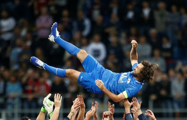 La Notte del Maestro, l'addio al calcio di Andrea Pirlo: San