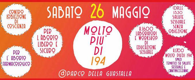 """Aborto, """"Non una di meno"""" organizza a Milano """"Molto più di 194"""": una giornata su obiezione respinta e diritti negati"""