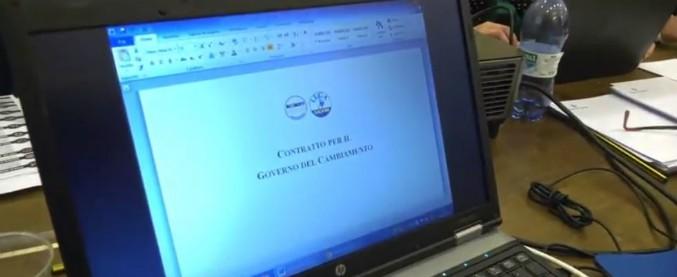 """Governo M5s-Lega, l'istituto Cattaneo analizza il contratto: """"Non è quello più a destra. E programma più vicino a 5 stelle"""""""
