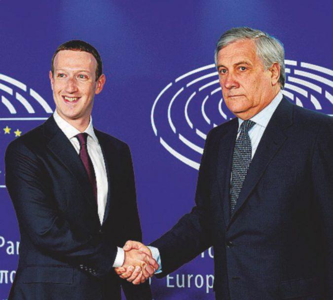 Il bravo scolaretto Zuckerberg passa l'esame anche in Europa